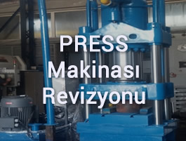 Press Makinası Revizyonu